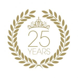 25 years Eyesential Logo