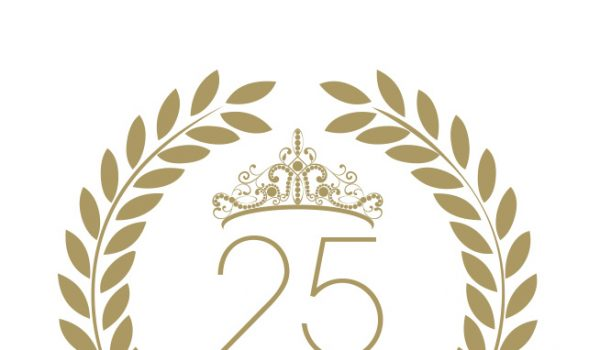 25 years Eyesential Logo